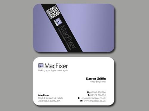 MacFixer Business Cards