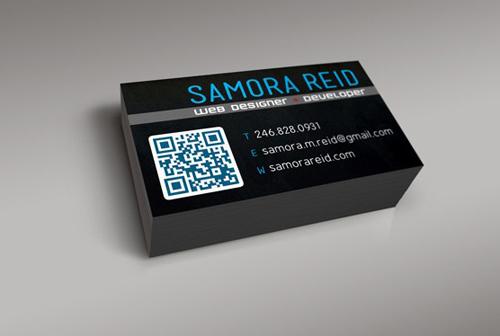 Samora Reid's Business Card
