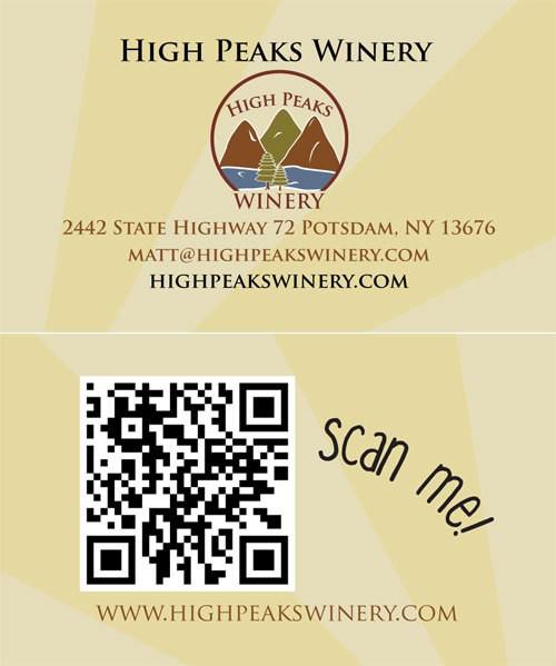 High Peaks Winery