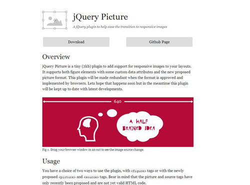 jQuery Picture